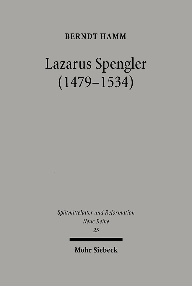 Lazarus Spengler, Berndt Hamm