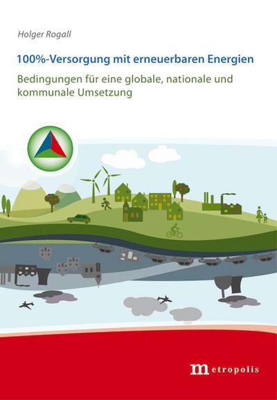 100%-Versorgung mit erneuerbaren Energien