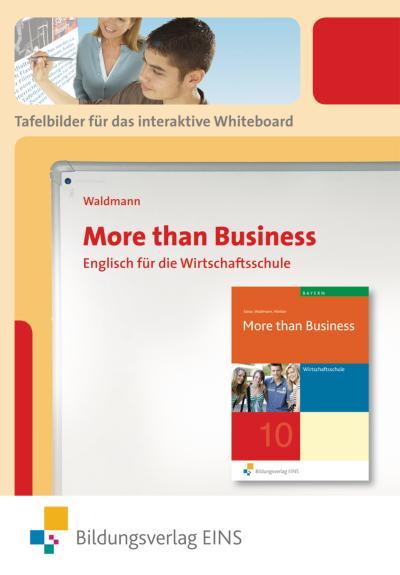 More than Business - Englisch an der Wirtschaftsschule. CD-ROM. Bayern
