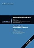 Zivilprozessordnung ZPO. Bücher 3-11. Übersetzung ins Polnische mit Fachwörterbuchverzeichnis