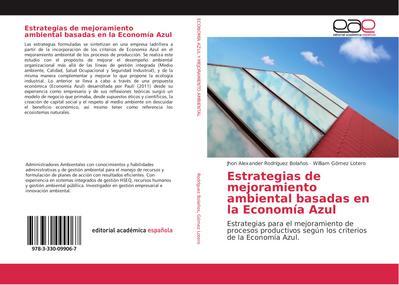 Estrategias de mejoramiento ambiental basadas en la Economía Azul