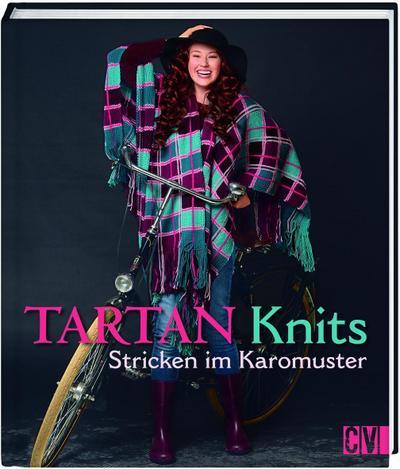 Tartan Knits; Stricken im Karomuster; Deutsch; durchgeh. vierfarbig