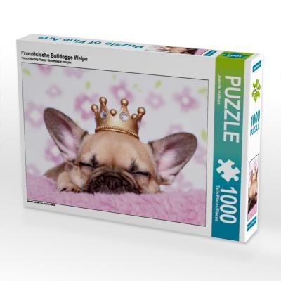 Französische Bulldogge Welpe (Puzzle)