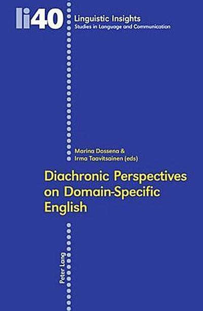 Diachronic Perspectives on Domain-Specific English