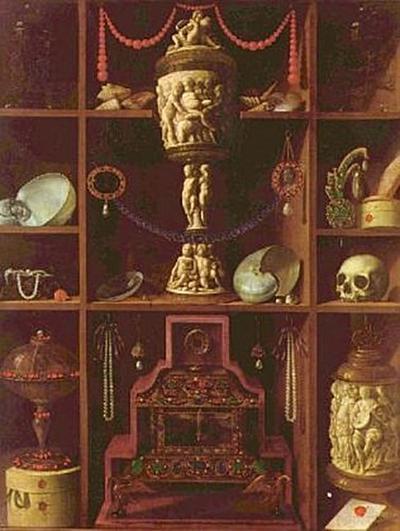 Johann Georg Hainz - Kleinodien-Schrank - 1.000 Teile (Puzzle)