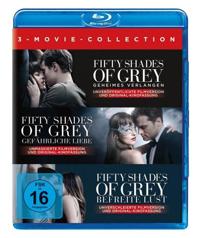Fifty Shades of Grey - 3 Movie-Collection