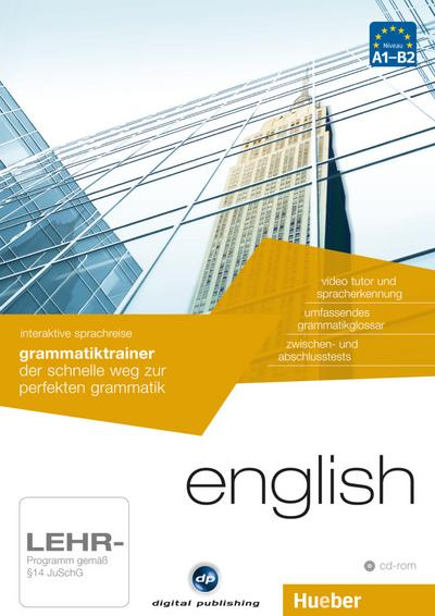 English - Interaktive Sprachreise Grammatiktrainer, CD-ROM