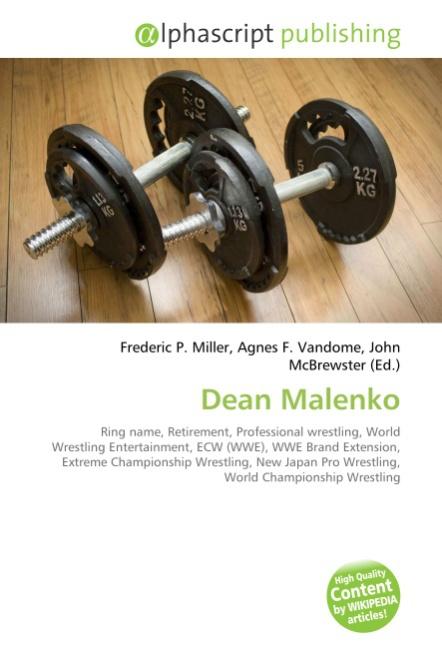 Dean Malenko - Frederic P. Miller -  9786130241537