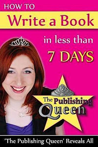 How To Write A Book in less than 7 days