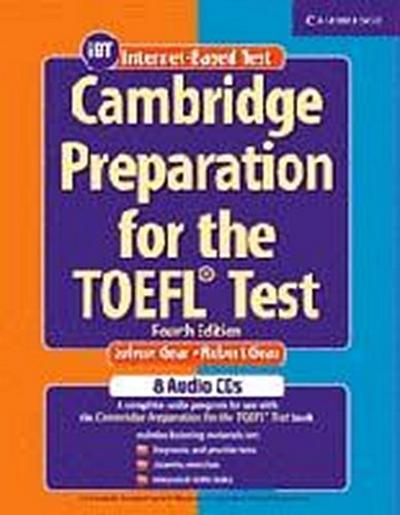 Cambridge Preparation for the TOEFL¿ Test Audio CDs (8)