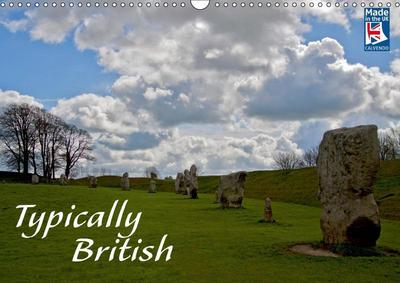 Typically British From a German Point of View (Wall Calendar 2019 DIN A3 Landscape)