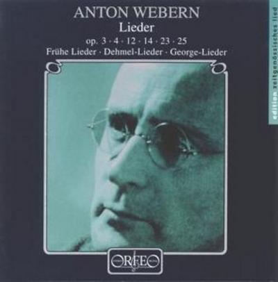George-Lieder/Trakl-Lieder Op.12,23,25/+