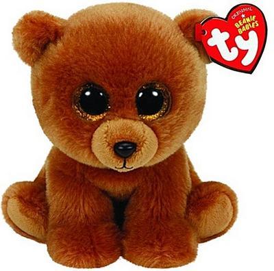 Brownie - Braunbär, 15cm
