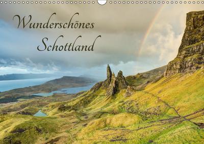 Wunderschönes Schottland (Wandkalender 2019 DIN A3 quer)
