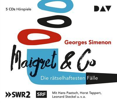 Maigret & Co - Die rätselhaftesten Fälle