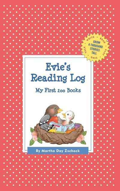 Evie's Reading Log: My First 200 Books (Gatst)