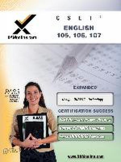CSET English teacher certification exam: 105, 106, 107