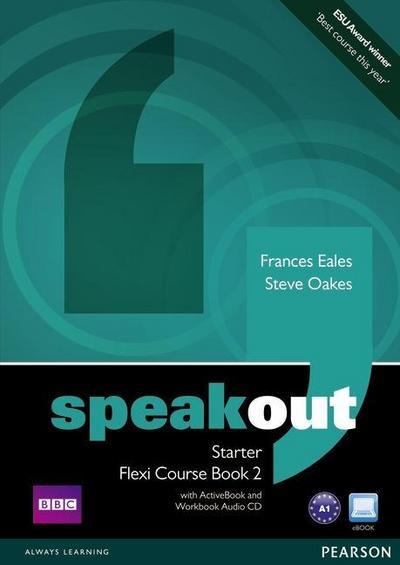 Speakout Starter Flexi Course Book 2