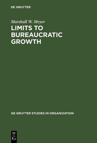 Limits to Bureaucratic Growth