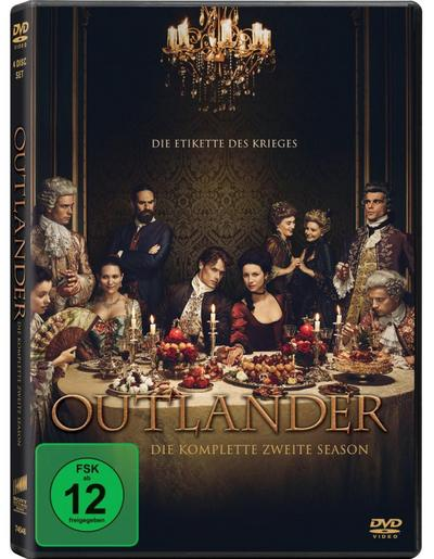 Outlander - Staffel 2 DVD-Box
