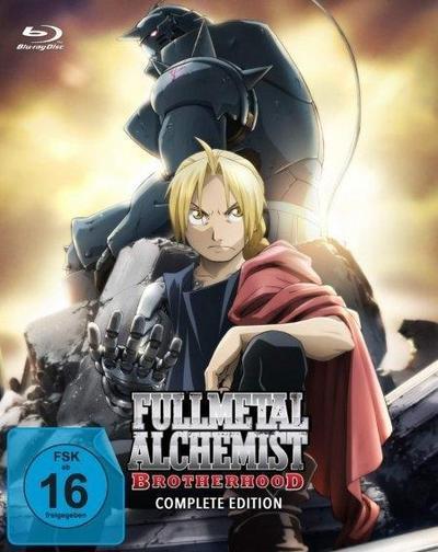 Fullmetal Alchemist: Brotherhood - Die komplette Serie, 9 Blu-ray