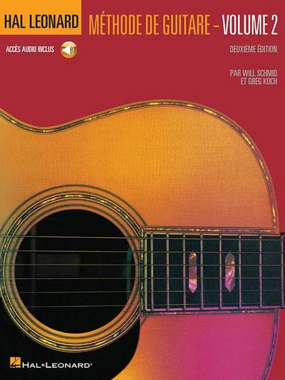 Hal Leonard Guitar Method Book 2: French Language Book/CD