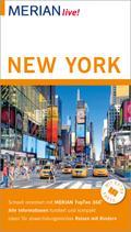 MERIAN live! Reiseführer New York; Mit Extra-Karte zum Herausnehmen; MERIAN live; Deutsch