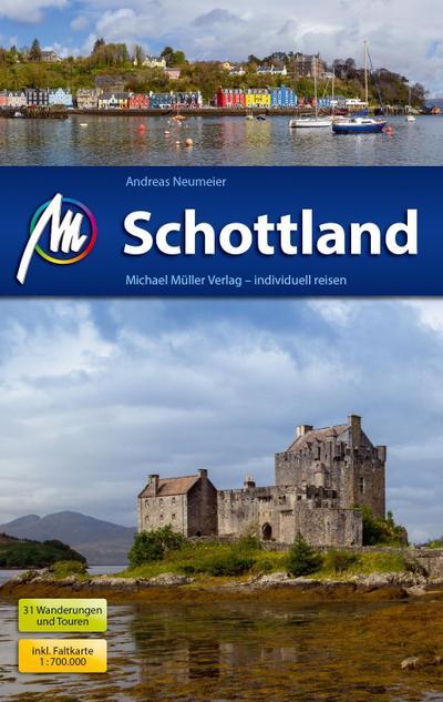 Schottland; Reisehandbuch mit vielen praktischen Tipps.; Deutsch; 368 farb. Fotos