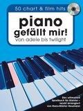Piano gefällt mir! 50 Chart und Film Hits - mit CD