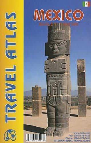 Mexico ITM Travel Atlas 1 : 1 000 000,