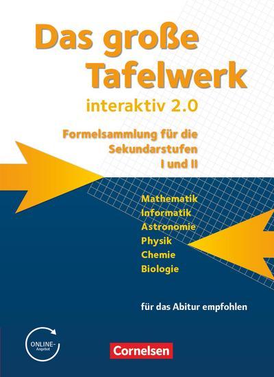 Das große Tafelwerk interaktiv 2.0 - Allgemeine Ausgabe (außer Niedersachsen und Bayern)