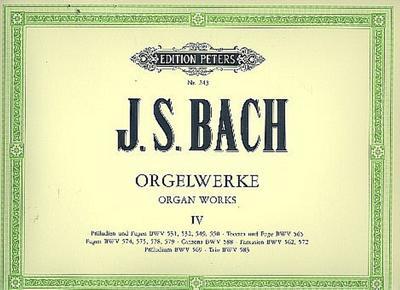 Orgelwerke in 9 Bänden - Band 4