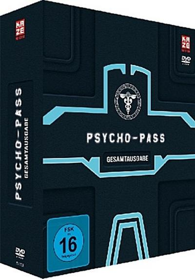 Psycho Pass - Gesamtausgabe. Staffel.1, 4 DVD