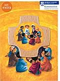 "Kreuz & Grußkarte ""Kinder der Welt beim Mahl"""