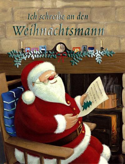Ich schreibe an den Weihnachtsmann.