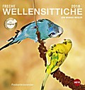 Freche Wellensittiche 2018. Postkartenkalender