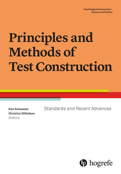 Principles and Methods of Test Construction
