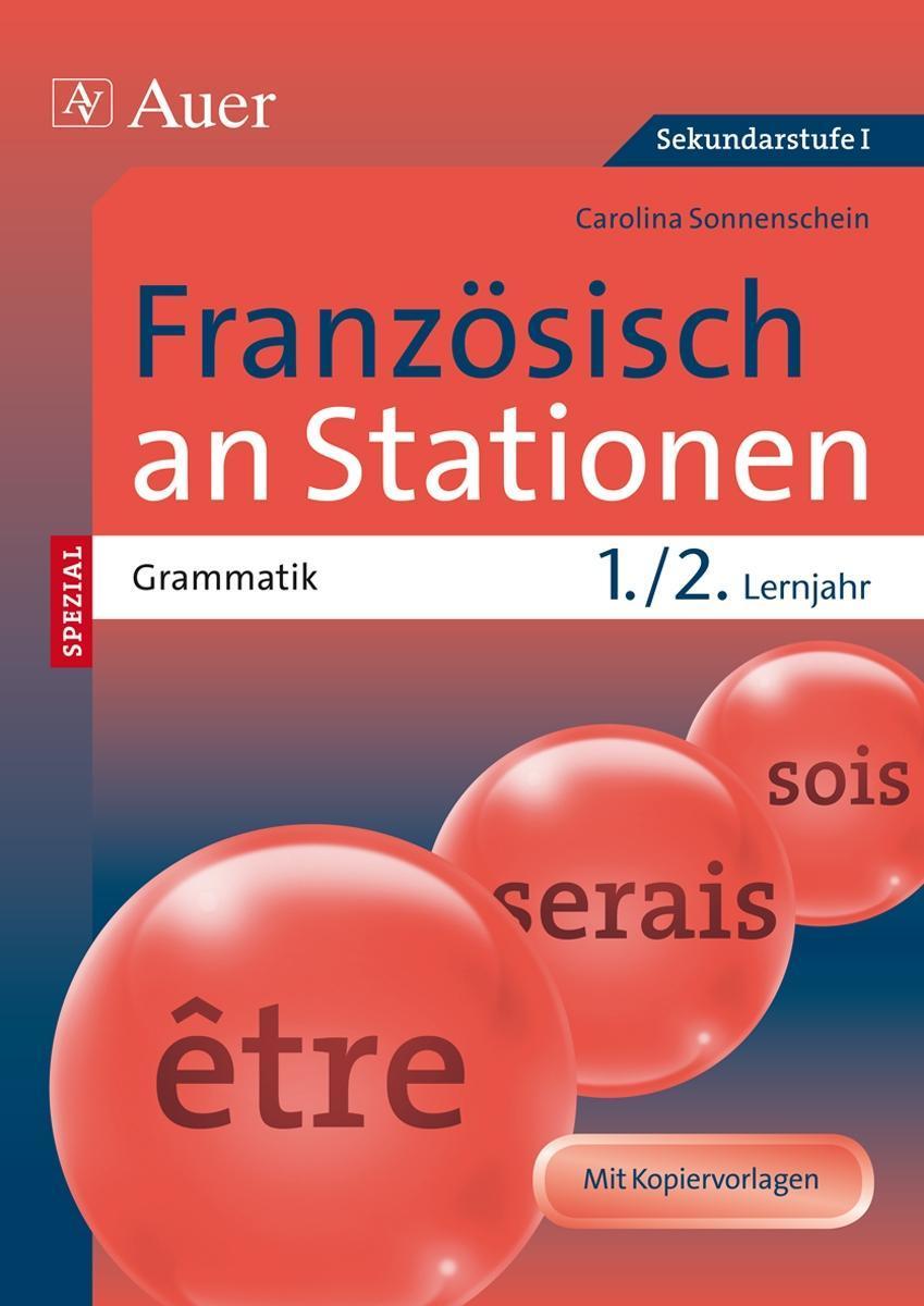 Carolina Sonnenschein , Französisch an Stationen SPEZIAL Gra ... 9783403071198