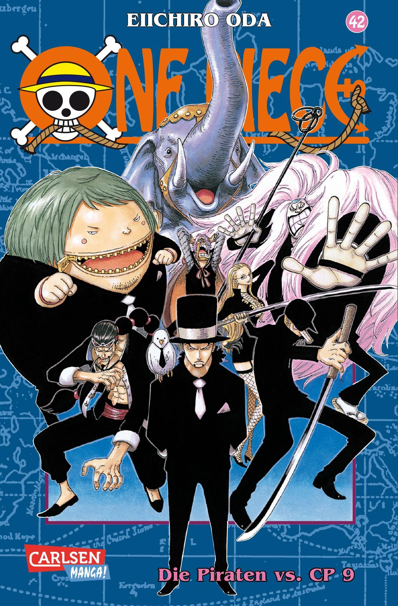 One Piece 42 Eiichiro Oda 9783551758125
