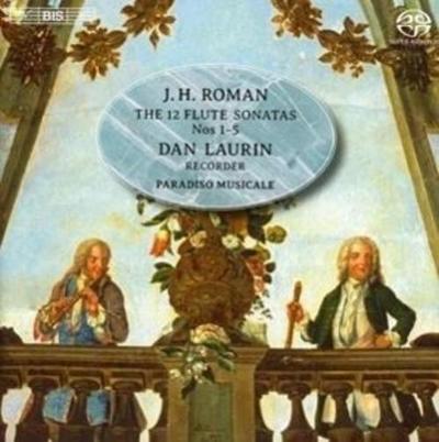 12 Sonaten für Flöte und B.c.: Sonaten 1-5