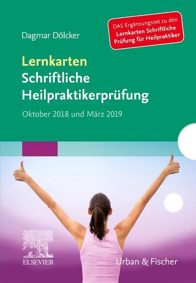 Lernkarten Schriftliche Heilpraktikerprüfung Oktober 2018 und März 2019