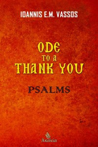 Ode to a Thank You