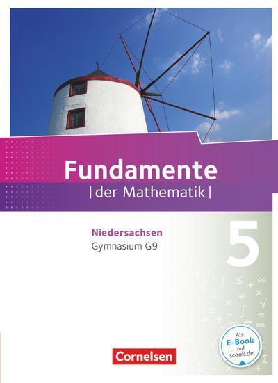 Fundamente der Mathematik 5. Schuljahr. Schülerbuch Gymnasium Niedersachsen