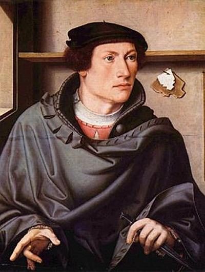Westfälischer Meister des 16. Jahrhunderts - Porträt eines Architekten - 500 Teile (Puzzle)