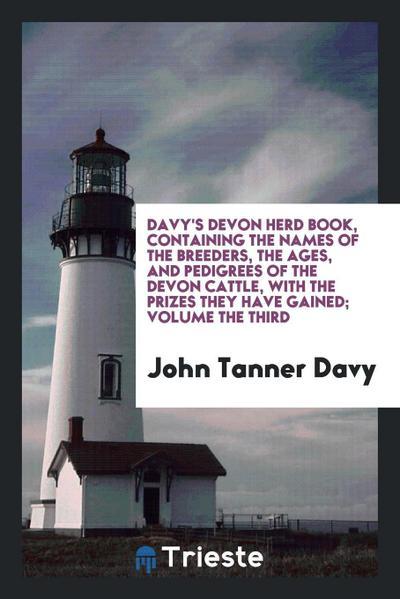 Davy's Devon Herd Book