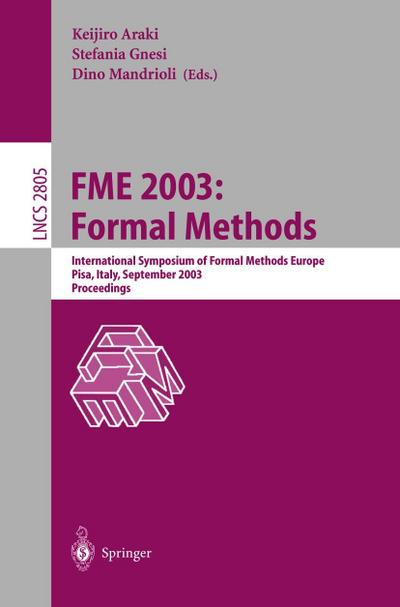 FME 2003: Formal Methods