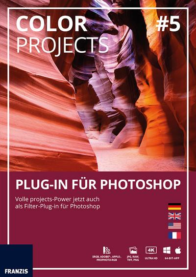 Color projects 05 Plug-In für Photoshop (Win & Mac)