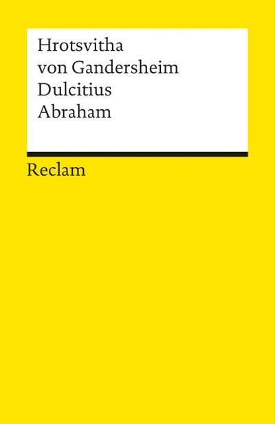 dulcitius-abraham-zwei-dramen-reclams-universal-bibliothek-