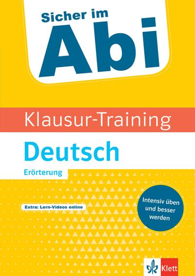 Klausur-Training - Deutsch Erörterung