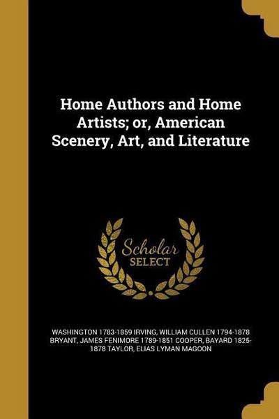 HOME AUTHORS & HOME ARTISTS OR